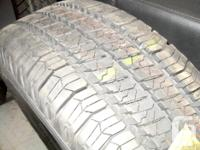 Check out this Set of 4 Takeoff Good Year Wrangler SRA