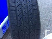 Firestone All Season Tires Set of 4, from new used 3