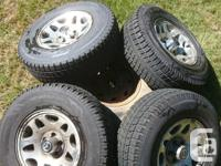 Selling a set of 4 Toyo Observe GSi-5 winter tires on