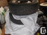 4 excellent WINTER TIRES 215/65 R 16, on rims for newer