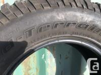 Set of 5 - 255/75R17 6000kms on em (even rotated once)