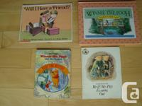 Set of 6 Books - Winnie the Pooh/ Mickey Mouse/ Will I