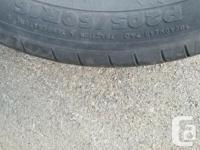 I have 2 all season tires, having more than 50% thread,