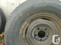 Matching set of steel Caddy rims in good condition.