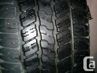 4 Goodyear Wrangler SRA M+S Tires size P275/65R18, Good