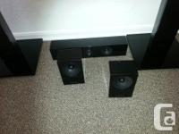 THIS SET OF SAMSUG SURROUND SOUND SPEAKERS LOOK NEW,AND