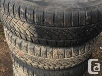 Set of 4 tires Hankook Optimo 4S 215/70R15 98T on 5