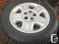 Set of 4 tires Uniroyal TigerPaw ice&snow 225/60R16