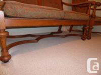 Settee and Two Chairs In great condition. About 100