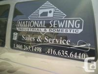 -Servicing all industrial sewing machine and domestic