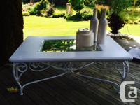 This gorgeous antique table has been re planned to be