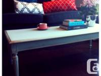 Beautiful Coffee Table Solid Wood Elegant Ornate Legs