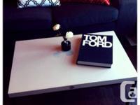 Beautiful Coffee Table Wooden top Metal Legs / Frame