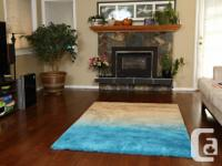 Very nice rug with 1.5 inch pile height, cotton canvas
