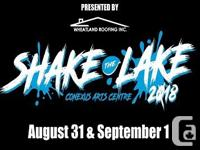 "Two week-end Passes available for the ""Shake The Lake"""