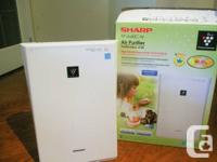Sharp FP-A40C-W Air Purifier and Ionizer.  Purchased 2