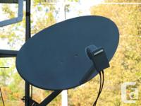 The satellite dish is the most up to date upgrade, much