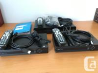 Hardly used Shaw Gateway HDPVR (XG1V30533) and 2 Total