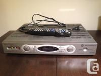 Shaw PVR (model DCT 6412) - Hd, double tuner with 120GB