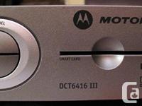 SHAW HD PVR Motorola model DCT 6416 III 160 Gb hard