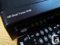 Shaw two-tuner high-definition 500GB PVR for sale.