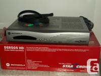 This is the DSR505 HD satelite receiver for Star/ Shaw