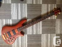Up for sale, a pristine, barely played Shecter Stiletto