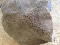 Pair REAL Sheepskin Seat Covers, Very good condition,