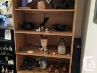 Shelving unit in great condition. Back panel is
