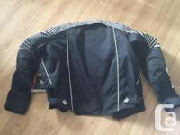 Never been worn motorcycle jacket. Still has the tags