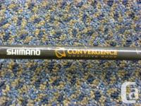 Shimano Convergence Mooching rod with reel, model