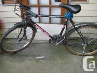 "Shimano SIS Mountain bike 26 "" aluminum tube with tire"