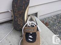 Retro city WMS sz7 shimano SPD shoes please call Drew