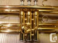 I have for sale a Yamaha YTR 1335 student trumpet in