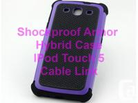 Shockproof Armour Hybrid Case for IPod Touch 5 - Brand