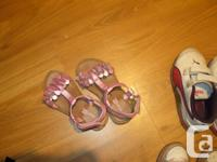 5 pairs of shoes, 25$ for the whole lot.  5$ each.
