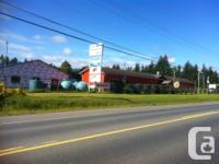 Sq Ft 1600 shop on Hwy 4 between Parksville and Coombs