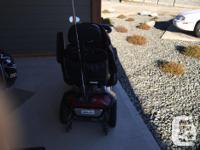 Shop Rider Trailblazer Scooter. Cost $5,500 new. New