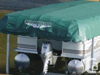 2011 ShoreMaster boat lift, 5,000 pound ability,