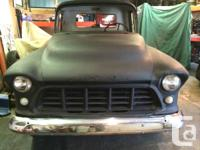 Chevrolet 1314 1956 complete project truck. clear