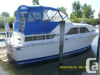 1977 Chris-Craft catalina $13500.00. Intend to down
