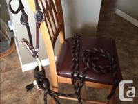 Quality western horse show set, one -eared Headstall,