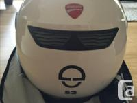 beautiful used a few times shuberth helmet. still with