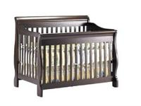 Six-Month Old Shermag Preston Crib in Espresso for sale