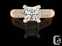 This ring is established in stunning 14k strong yellow