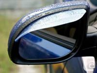 GadgetPlus.ca   Item:  Side Mirror Rain Guard Wind