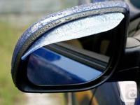 GadgetPlus.ca   Item:  Side Mirror Rain Guard Wind