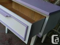 Side/Night Table With one Drawer perfect for little