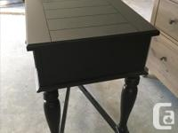 """in great condition shabby chic side table 48"""" L X 29.5"""""""