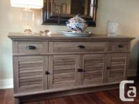 Attractive, versatile sideboard. The clean lined